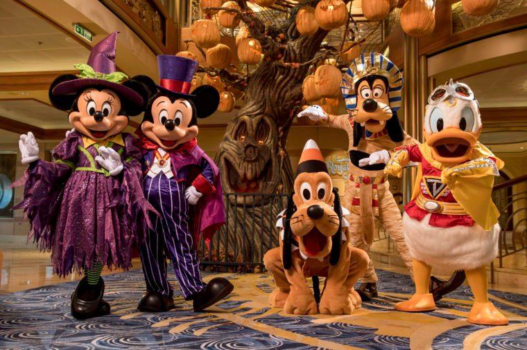 Halloween on the High Seas - The Pumpkin Tree Aboard the Disney Dream