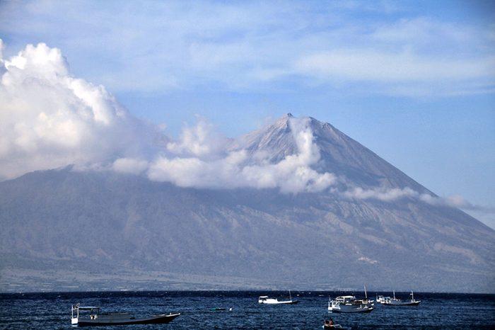 Indonesia Volcano - Jun 2014
