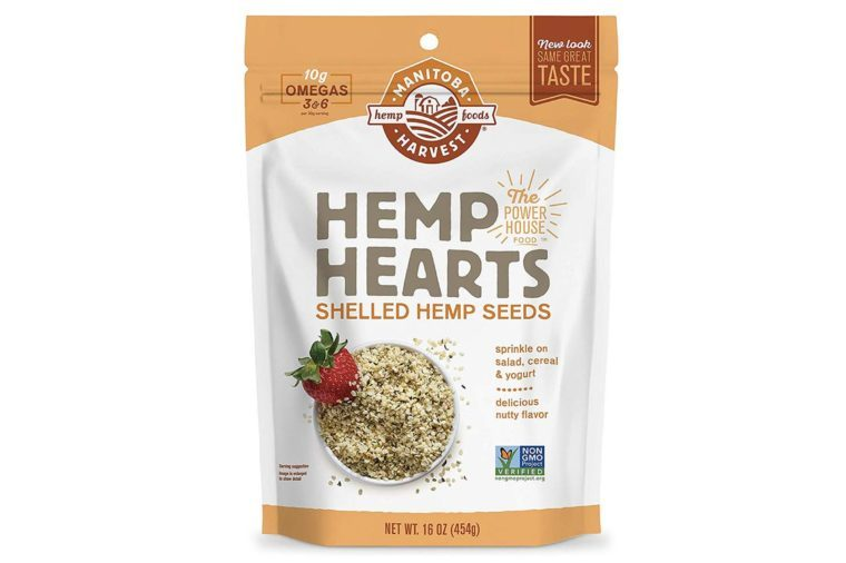 Manitoba Harvest Hemp Hearts Raw Shelled Hemp Seeds, 1lb; with 10g protein& Omegas per Serving, Non-GMO, Gluten Free - Packaging May Vary