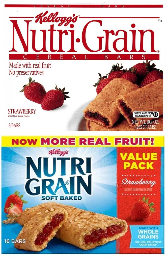 nutrigrain bars