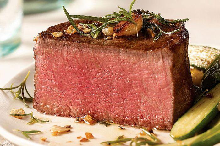 Dinner direct to her door: Omaha Steaks