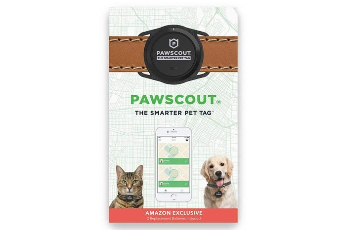 Pawscout Smarter Pet Tag New Version 2.0 - Lost Pet Alerts, Medical Profile, Outdoor Virtual Pet Leash, Walk Tracker, Pet Points of Interest, No Monthly Fees