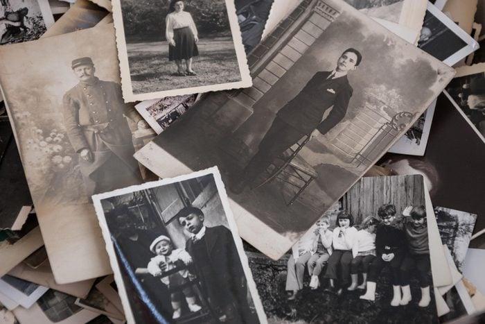 old vintage family photos