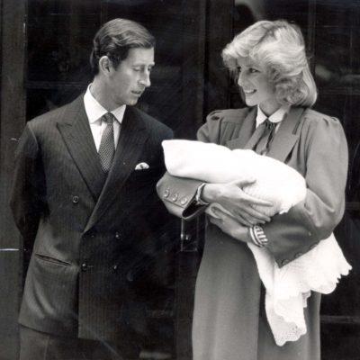 Prince Charles, Prince Harry and Princess Diana