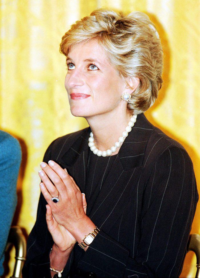Princess Diana visit to Washington DC, America - Sep 1996