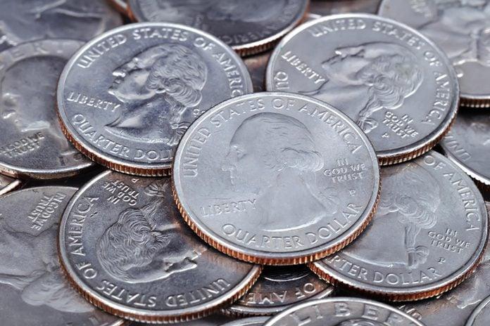 quarters coins money