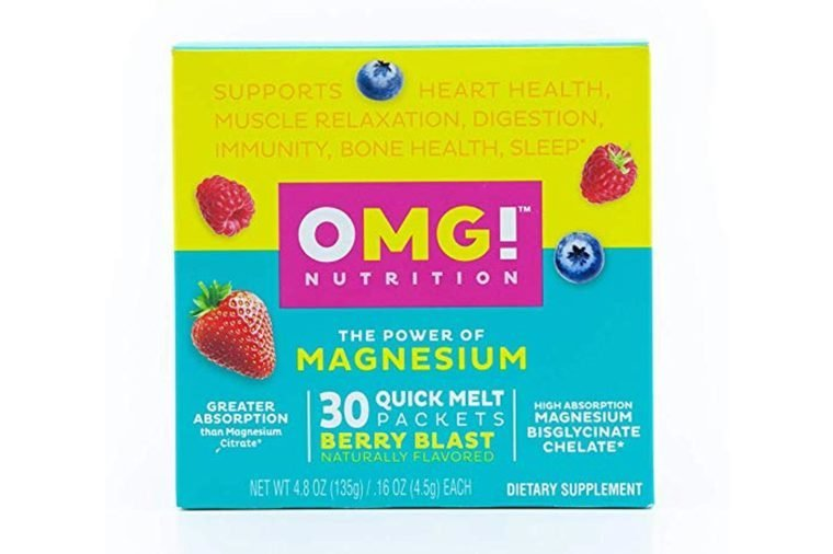 Quick Melt Magnesium Bisglycinate Chelate – Powder Melts On Your Tongue | High Absorption, Non-Laxative, Vegan, Non-GMO Supplement for Sleep, Stress, Heart, Muscle Relaxation and...