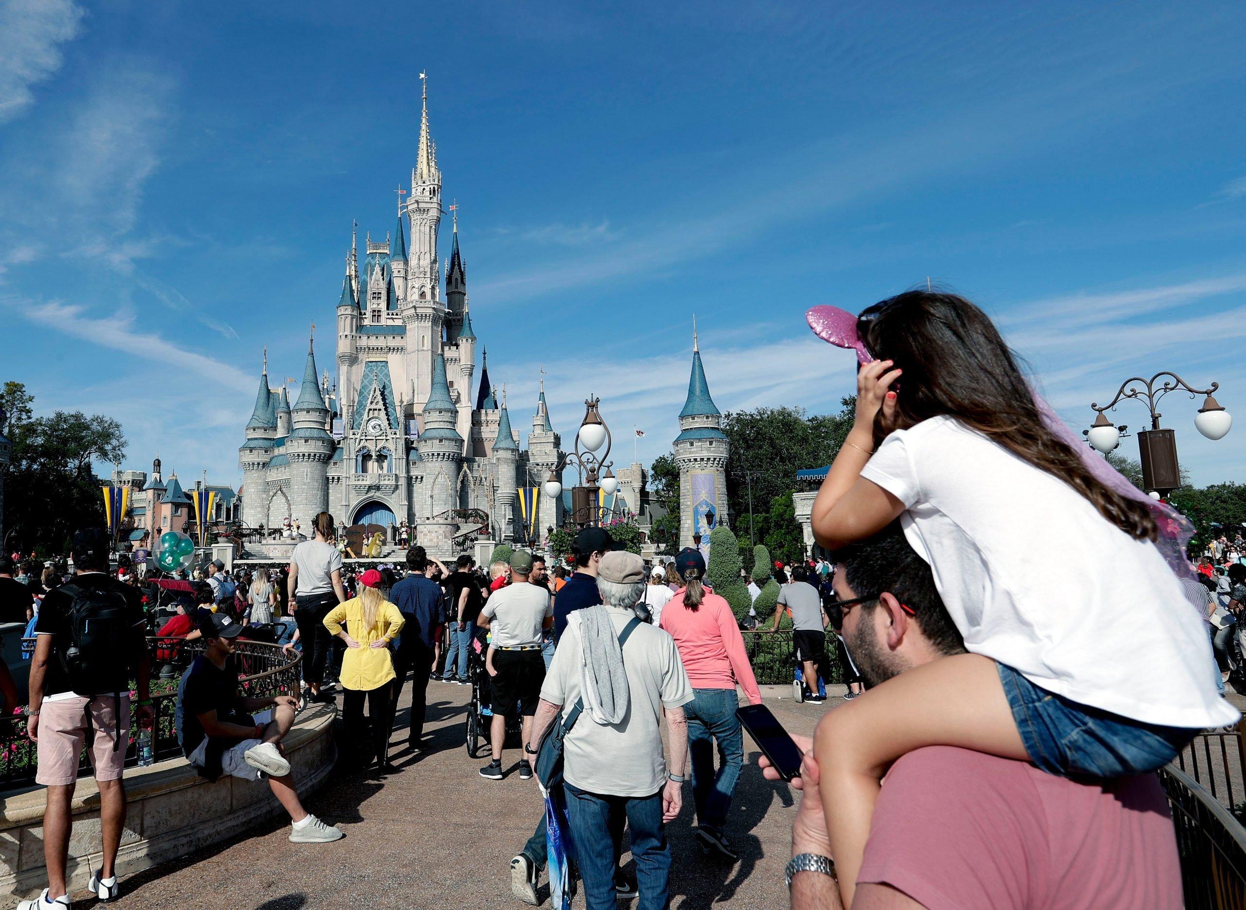 Disney World Magic Kingdom, Lake Buena Vista, USA - 09 Jan 2019