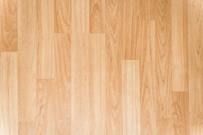 Wooden flooring texture background, Top view of smooth brown laminate seamless wood floor, use for architecture business or wallpaper