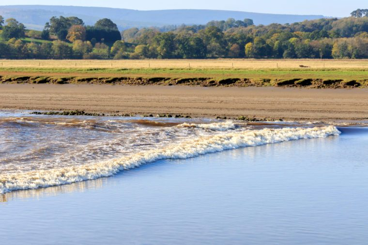 River Nith Dumfries and Galloway Tidal bore