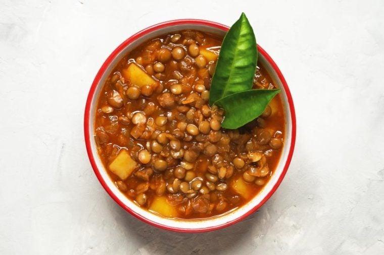 Adasi, Persian Lentil Stew.