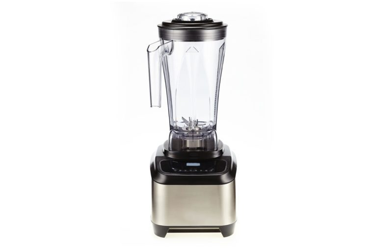 Juicer or electric blender on white isolated background
