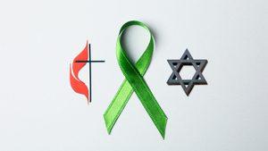 jewish rabbi methodist minister kidney organ donor donation