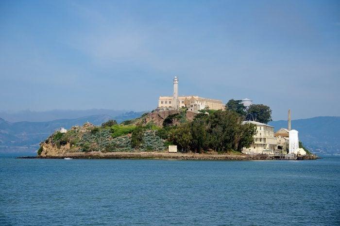 Alcatraz Island as seen from San Francisco
