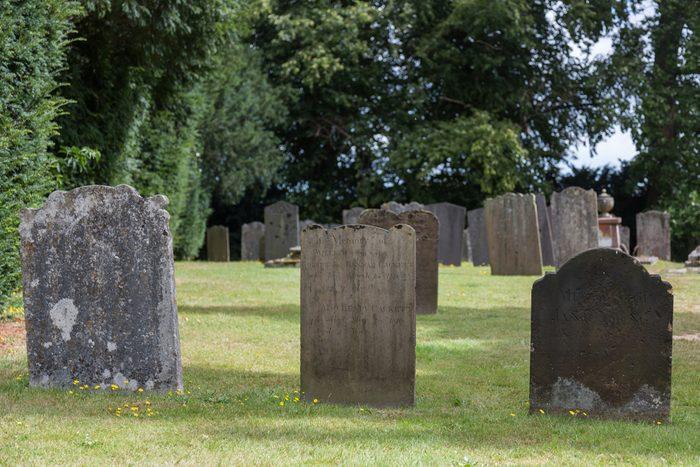 Penshurst church Cemetery in Kent, United Kingdom