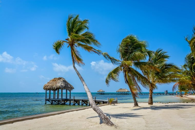 Where the Tropics combine sand, sea and sky to produce perfection. San Pedro, Belize