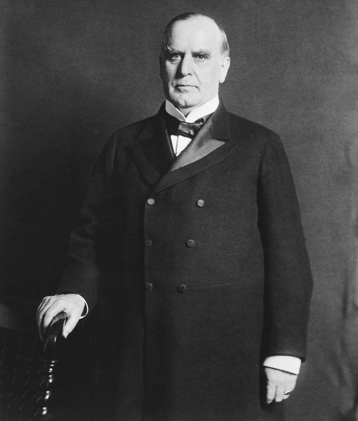 VARIOUS Washington, D.C.: 1900 A portrait of William Mckinley, Jr. the twenty-fifth President of the United States, (1897-1901).