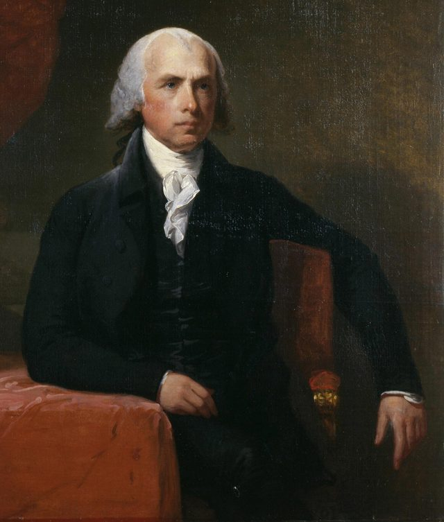VARIOUS Portrait of James Madison, 1806