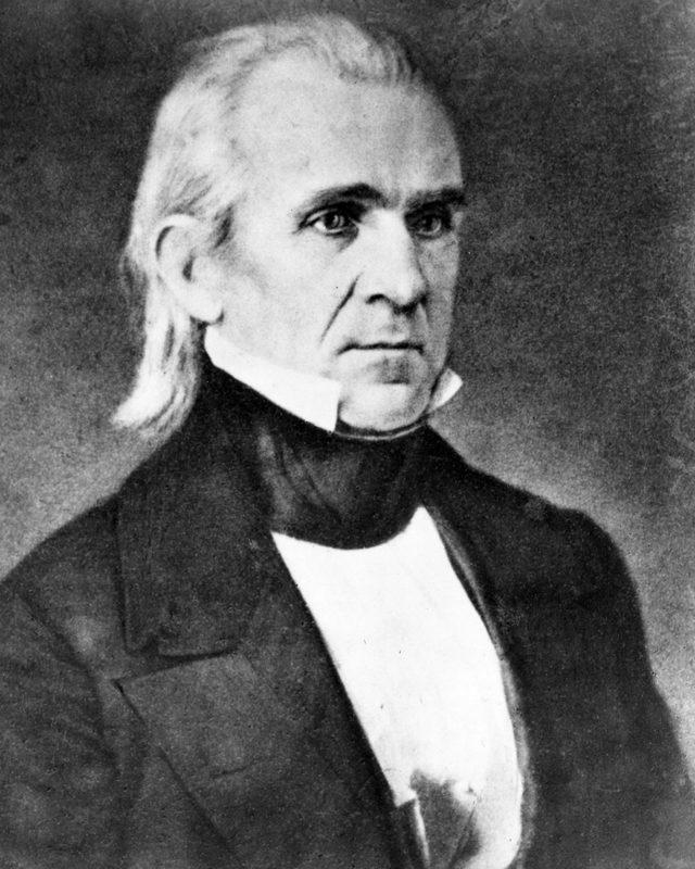 VARIOUS President James K Polk 1860