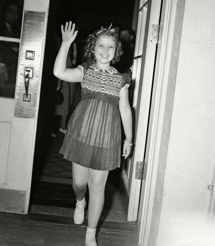Shirley Temple Visits FDR, Washington, USA