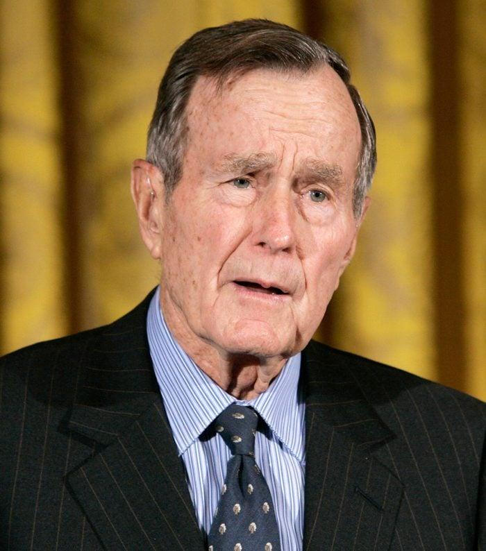 George H W Bush, Washington, USA