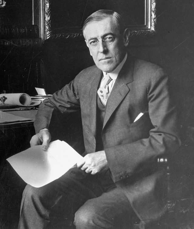 President Woodrow Wilson, WASHINGTON, USA