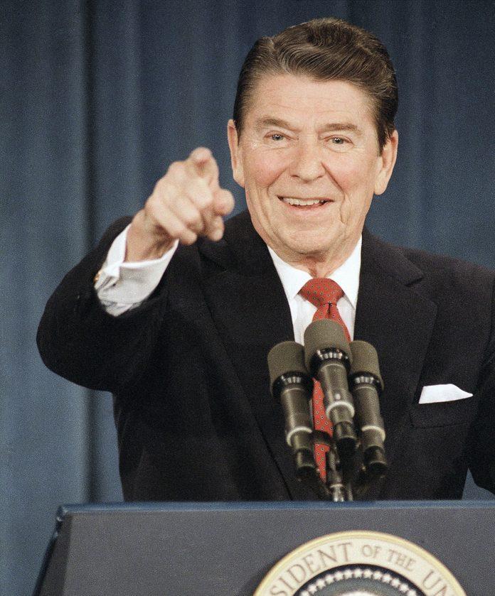 President Ronald Reagan, Washington, USA
