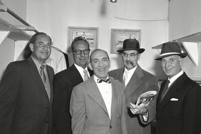 The Five Marx Brothers 1957, LOS ANGELES, USA