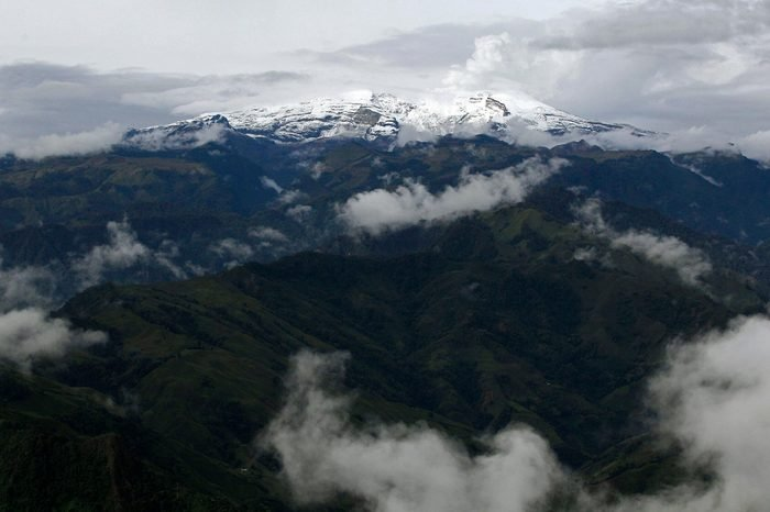 Colombia Volcano, Herveo, Colombia