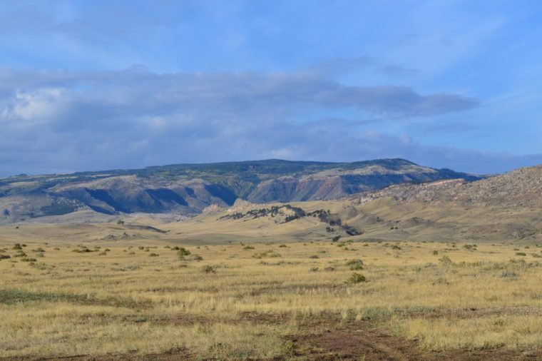 This is a photo of a landscape in Casper, Wyoming. Casper Wy Landscape The vast expansion of Wyoming.