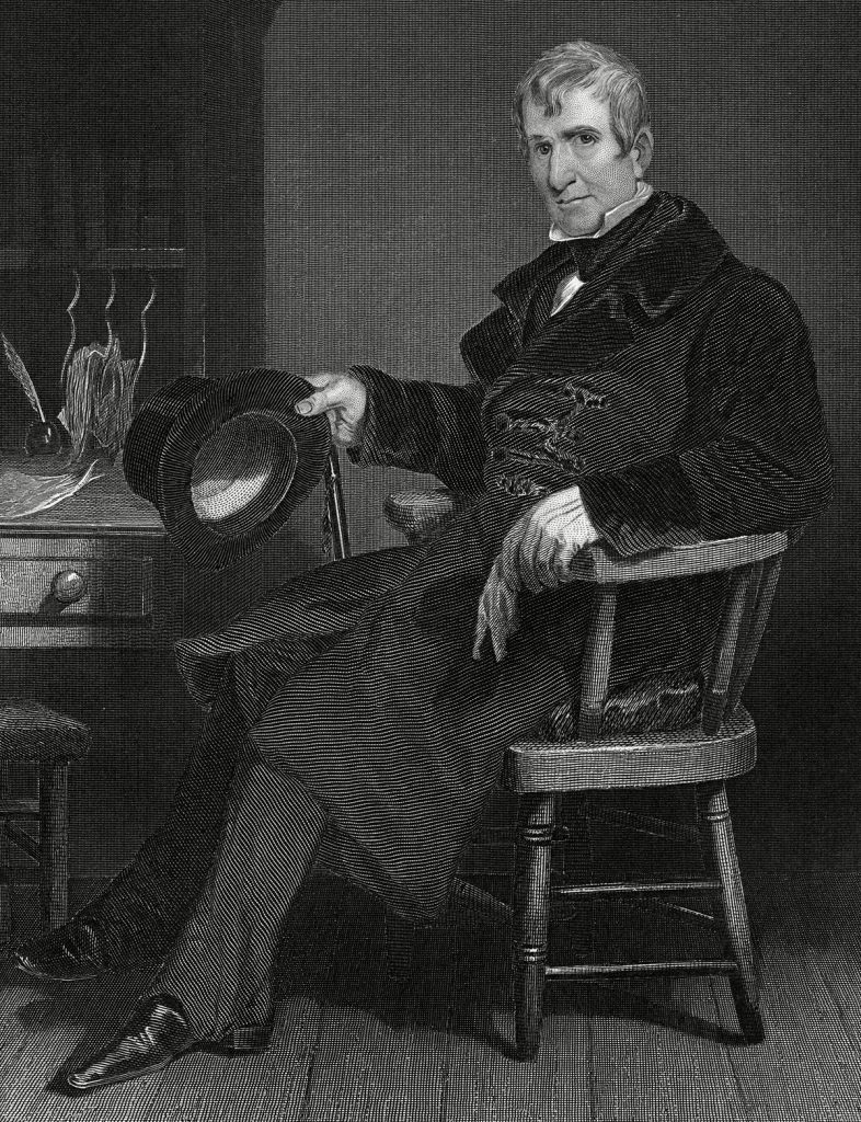 Historical Collection 2 William Henry Harrison (1773-1841) 9th President of the United States (1841-1841) He Died On His 32nd Day in Office 1841