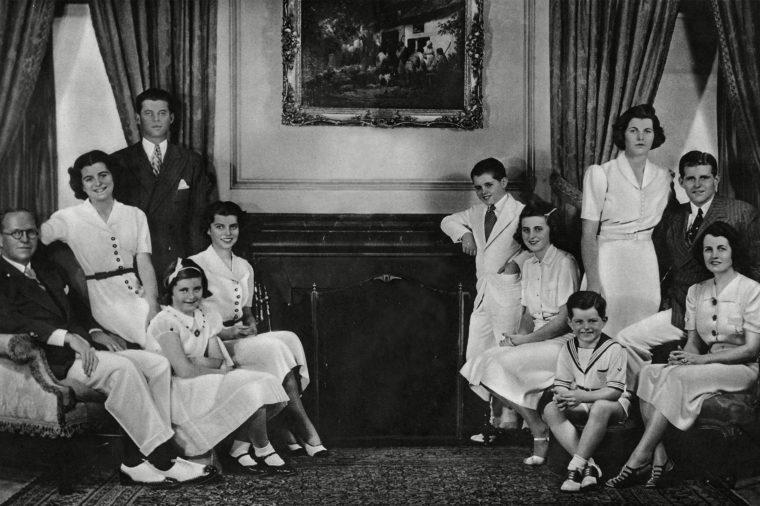 Joseph Kennedy, American Ambassador & Family, 1938