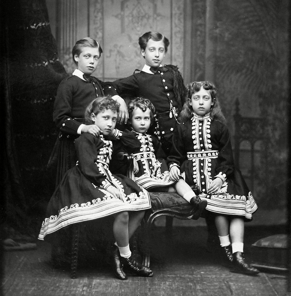 Children of Edward Vii Circa. 1875