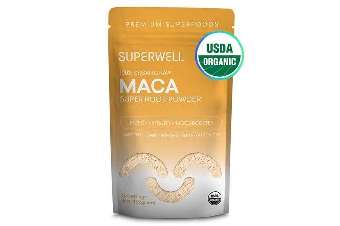 SUPERWELL Maca Powder (15 Oz / 212 Servings) | Maca Root Powder 100% USDA Organic | Raw | All Natural | Premium Superfood | Improves Health, Mood, Energy, Stamina & Balances Hormones