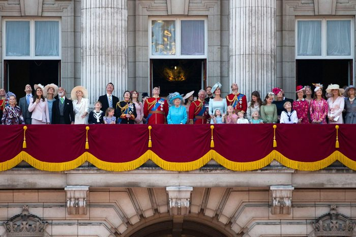 Trooping The Colour Marks Her Majesty The Queens Official Birthday, London, United Kingdom - 09 Jun 2018