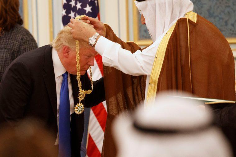 Trump US , Riyadh, Saudi Arabia - 20 May 2017