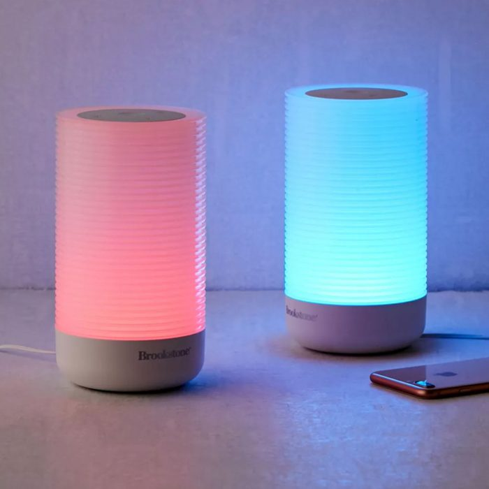 Long-distance lighted love: Brookstone Friendship Lamps