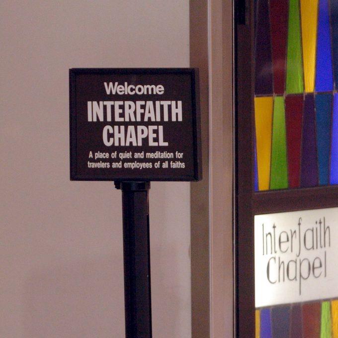 Hartsfield Jackson Atlanta International Airport interfaith chapel