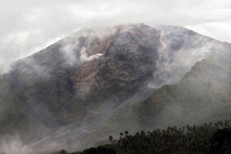 Volcano, Siau, Indonesia - 07 Feb 2019