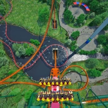 This Is the Longest, Tallest, and Fastest Dive Roller Coaster in the World