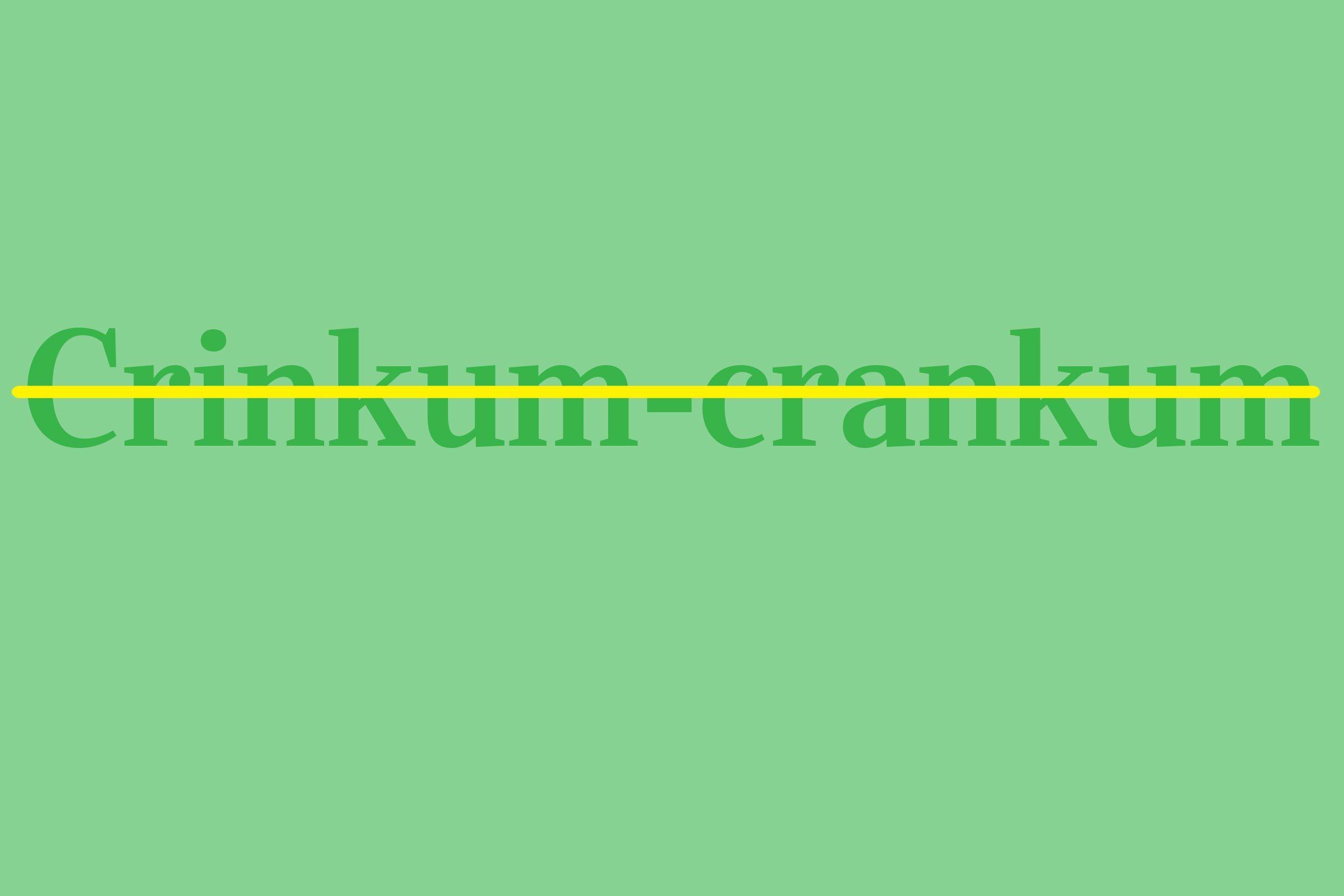 crinkum-crankum