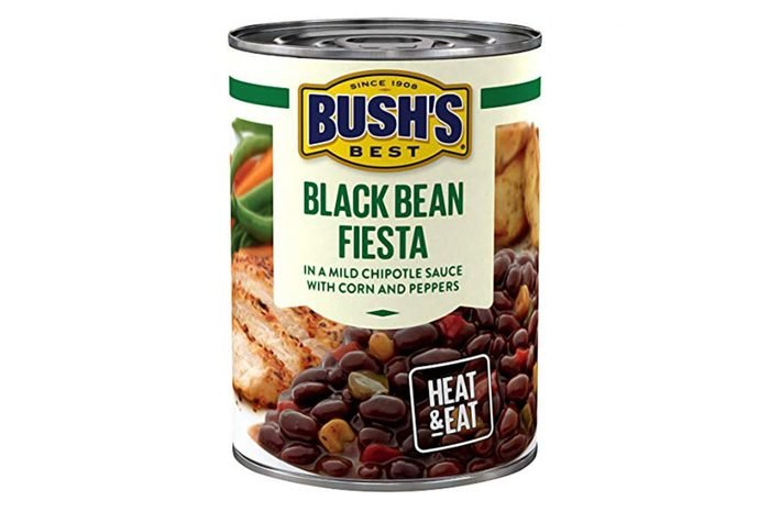 Bush's Best Black Bean Fiesta Savory Beans, 15.5 oz (Pack of 12)
