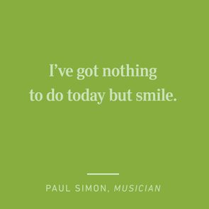 paul simon short happy quotes