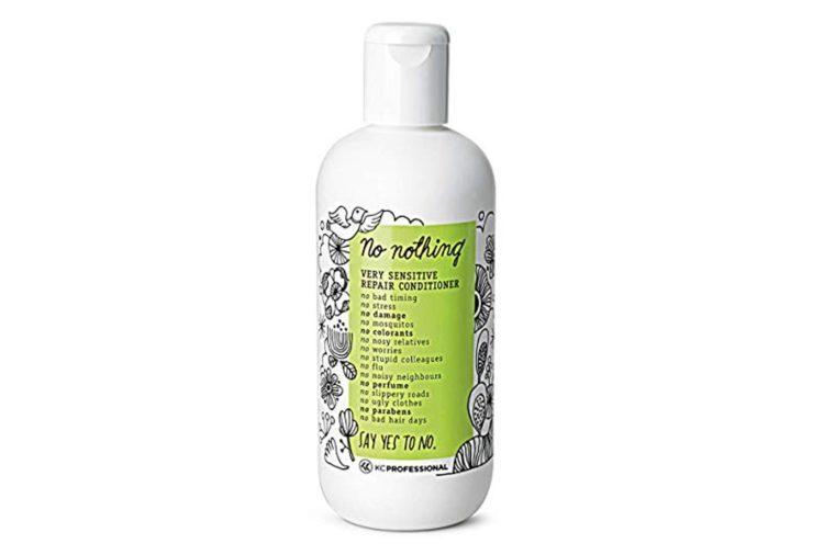 100% Vegan Repair Conditioner - Hypoallergenic Conditioner Repairs Weak and Damaged Hair - Allergen Free, Fragrance Free, Paraben Free, Unscented, Gluten Free, 10.15 oz