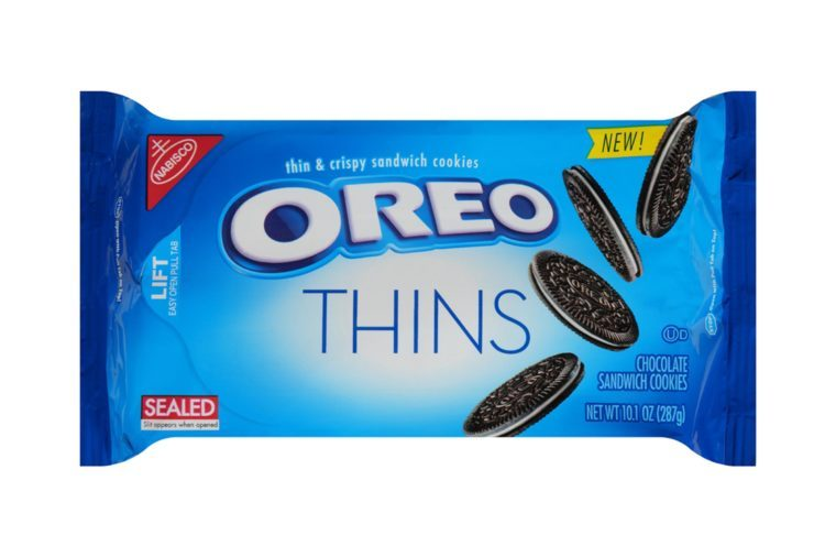 Nabisco Oreo Thins Sandwich Cookies, 10.1 Oz.