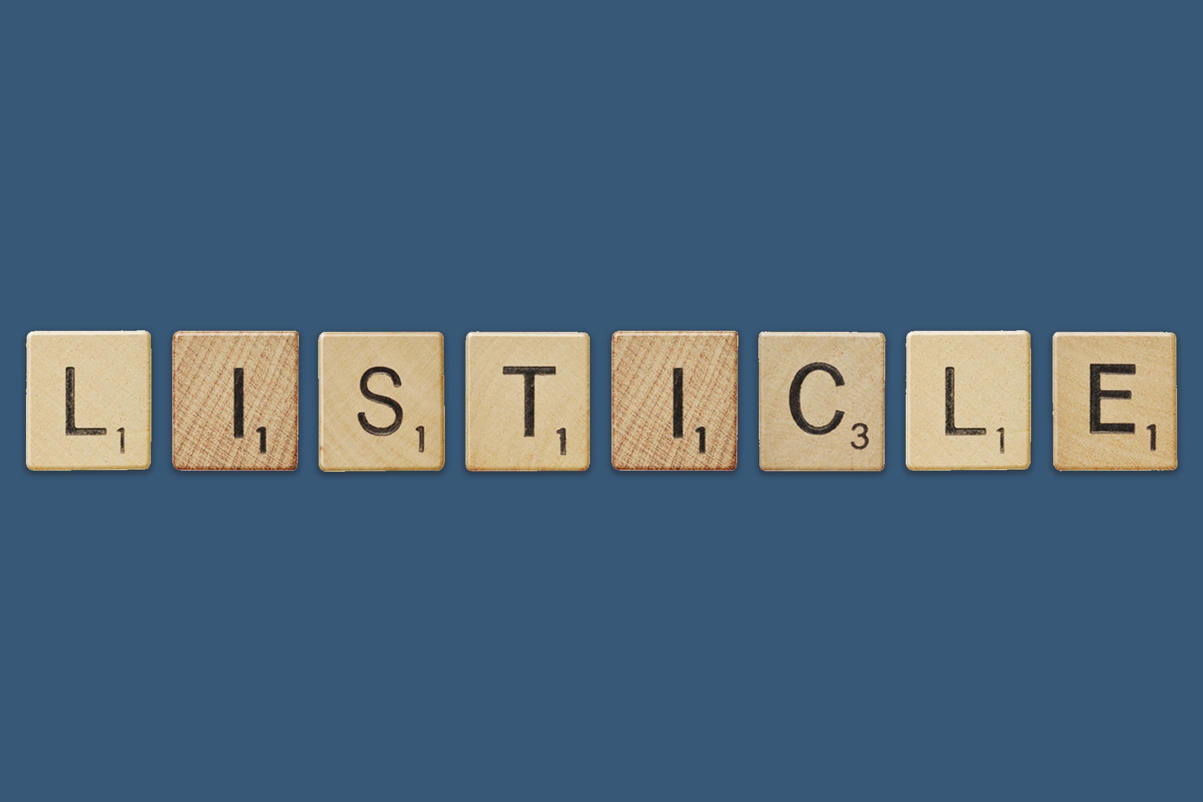 listicle