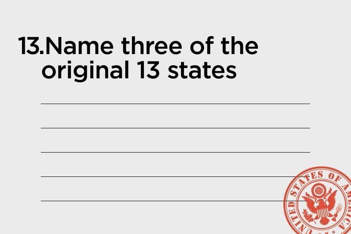 name three of the original 13 states