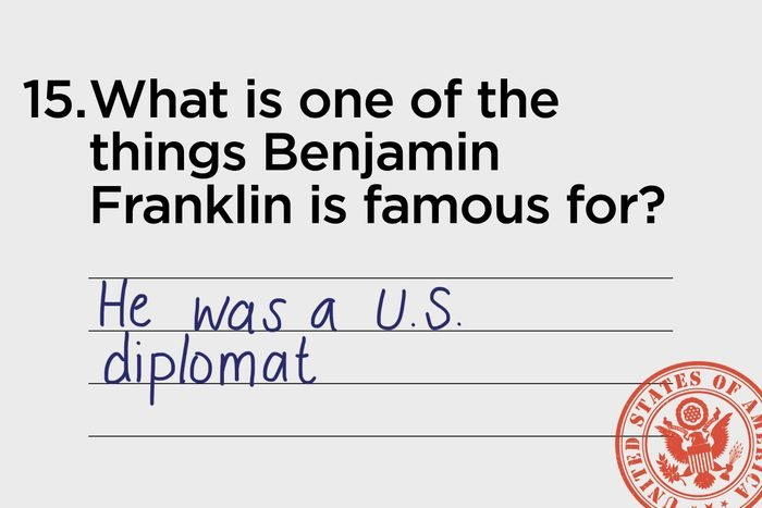 he was a US Diplomat