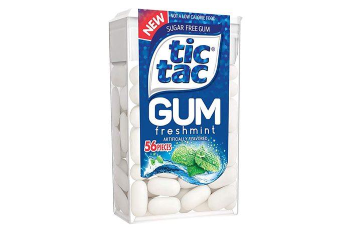 Tic Tac Sugar Free Gum Freshmint, 12 count