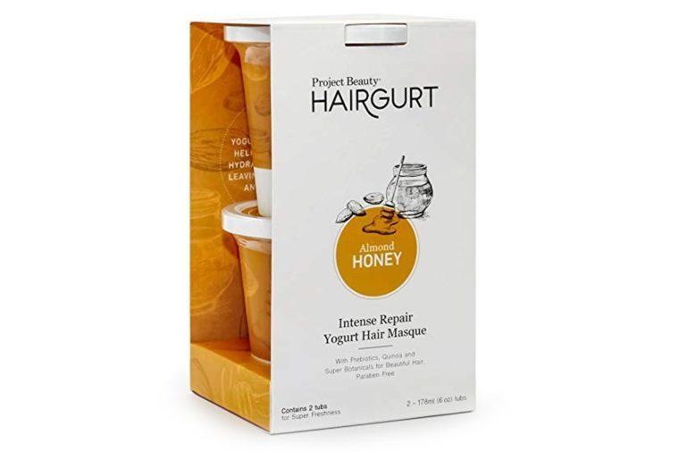 Hairgurt Intense Repair Deep Conditioner Yogurt Hair Mask for Dry and Damaged Hair; Sulfate Free